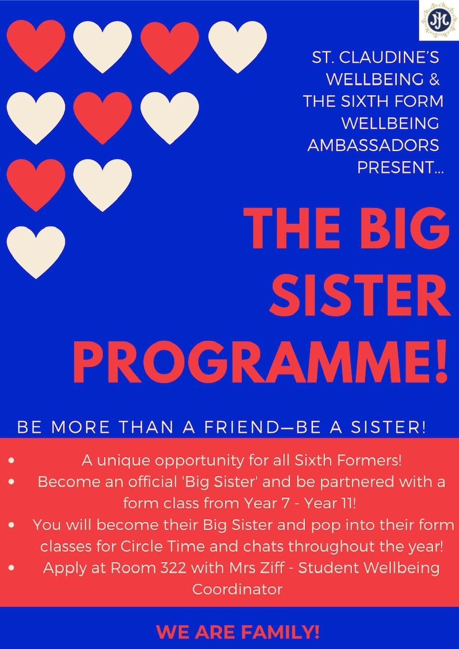 Big Sister Programme poster pic