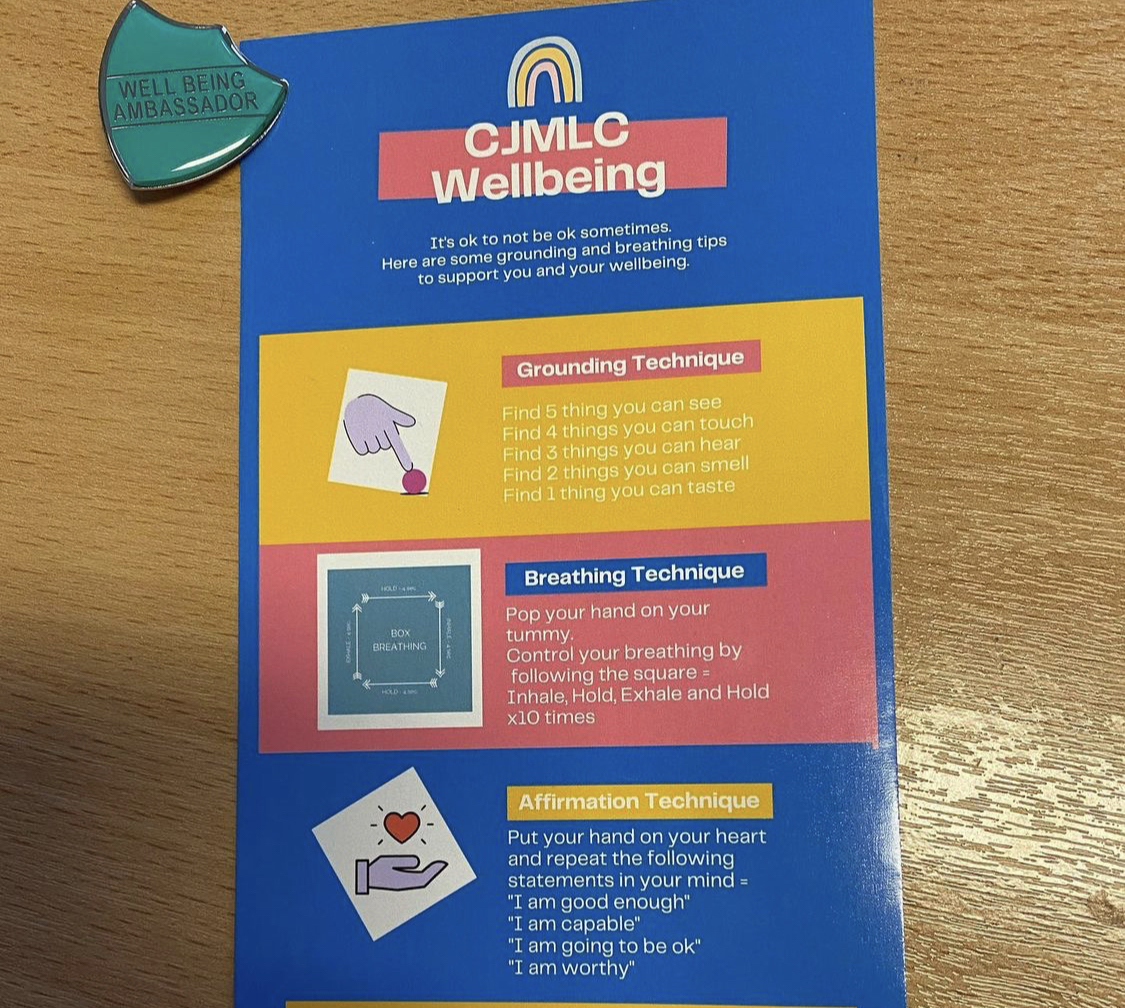 Wellbeing and Badges pic
